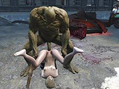Fallout 4 katsu sex adventure chap.7 supermutant anal videos