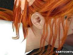 Busty 3d secretary sucks and fucks movies at nastyadult.info
