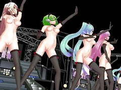 Mmd vocaloid dance crew movies at find-best-babes.com