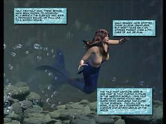 3d comic: mermaid tubes