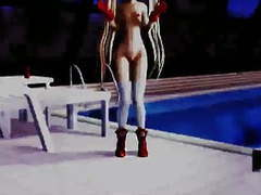 Mmd alice private pool dance movies at freelingerie.us