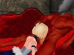 Mmd sexy blondie and bigdaddy in the champagne room gv00142 movies at find-best-panties.com