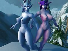 Warcraft snow bunnies videos