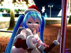 Newcomer sexy miku claus videos