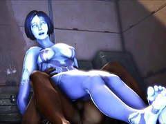 Cortana sitting on a big juicy cock movies