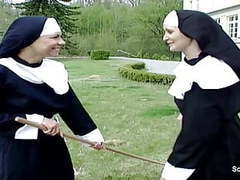 German nun get her first fuck from repairman in kloster movies at kilopills.com