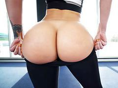 Big round ass jada stevens takes big cock after yoga movies at find-best-pussy.com