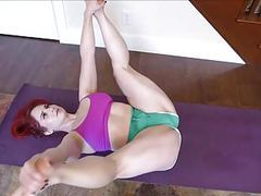 Pawg milf yoga hip stretch movies at find-best-panties.com