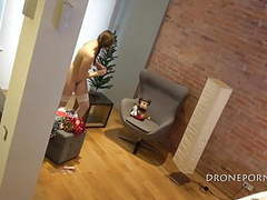 Hidden cam at home - christmass time movies
