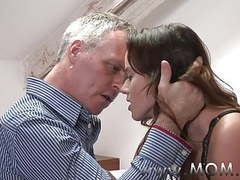 Mom brunette milf pleases her man movies at kilopics.net
