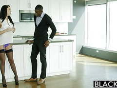 Blacked husband does not know wife sabrina banks loves bbc movies at freekilosex.com