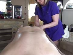 Sam gives a massage tubes
