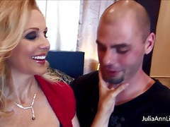 Busty julia ann fucks her husband & his friend big cocks! movies at kilopics.net