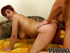 Short haired milf fucks young stud !! movies at kilomatures.com