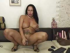 Hot, horny 50 year old latina milf rides dildo! movies at kilomatures.com
