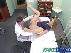 Fakehospital innocent blonde gets the doctors massage movies at kilomatures.com