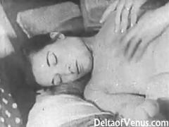 Authentic vintage porn 1950s - shaved pussy, voyeur fuck movies at sgirls.net