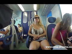 Flashing my pussy in public in italy movies at kilovideos.com