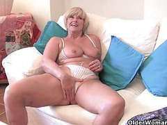 Chubby grandma with big old tits fucks a vibrator movies at find-best-pussy.com