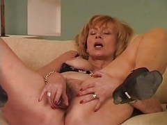 Granny uses a vibrator movies at kilovideos.com