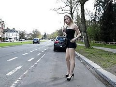 Angie lee street prostitute in mini skirt and high heels movies at freekilomovies.com
