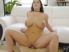 Nf busty - angela whites huge natural tits bounce s3:e3 movies