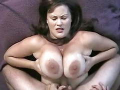 Huge titty fuck and massive facial movies at freekiloclips.com