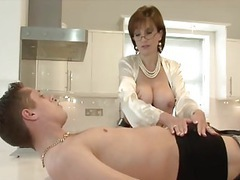 Classy lady serviced by young handyman movies at find-best-pussy.com
