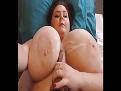 Massive tits cum covered videos
