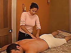 Getting a handjob from my latina masseuse movies at find-best-ass.com