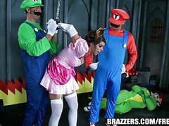 Brazzers - mario and luigi parody double stuff movies at kilopics.net