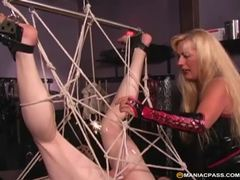Expert hogtie milf knows how to tie up her horny sex slave movies at sgirls.net