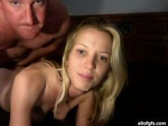 Slender blonde amateur gets impaled on thick cock movies at kilosex.com