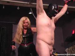 Very kinky blonde milf hogties her horny husband movies at kilosex.com