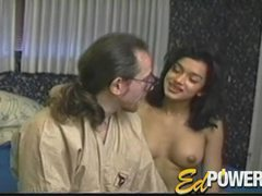 He cums on her face and she loves it movies at lingerie-mania.com