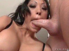 Filling throat of bust milf with hard cock videos