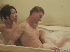 Soapy body massage from asia videos
