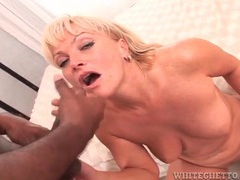Black dicks shoot jizz on the faces of white girls movies at kilosex.com