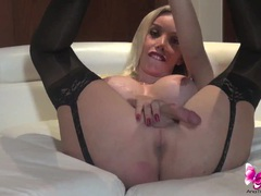 Ana mancini in black stockings videos