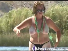Lake havasu party with lots of bikini babes videos