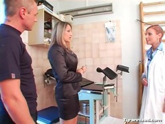 Doctor visit turns into a naughty femdom fantasy videos