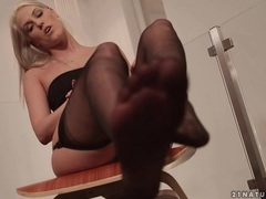 Ballerina in stockings dances gently movies at sgirls.net