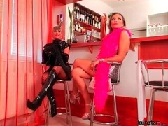 Latex is sexy on these two dominant girls videos