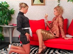 Mistress inspects the tight ass of her french maid videos