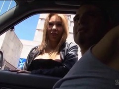 Whore gives him head in a car videos