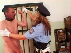 Female cop abuses a peeping tom roughly movies at kilovideos.com
