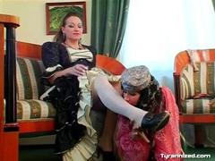 Belly dancing girl licks her mistress for pleasure videos
