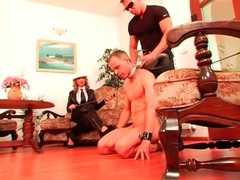Sub guy sucks heels and used as ashtray movies at freekilopics.com