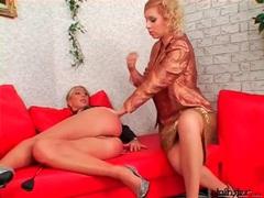 Girl fucks mistress with a face dildo movies at kilopics.net