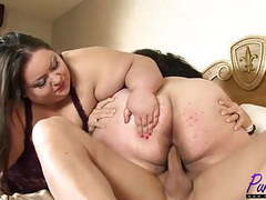 Ssbbw babes apple & lola get fucked together movies at find-best-ass.com
